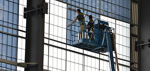 commercial window tint installation