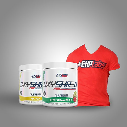 2x Oxyshred Stack + EHP Labs Shirt