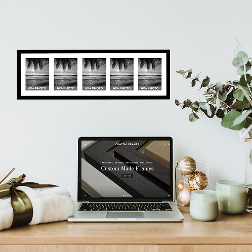 6x4 Multi Aperture Photo Frames - 3 - 4 - 5 Photos