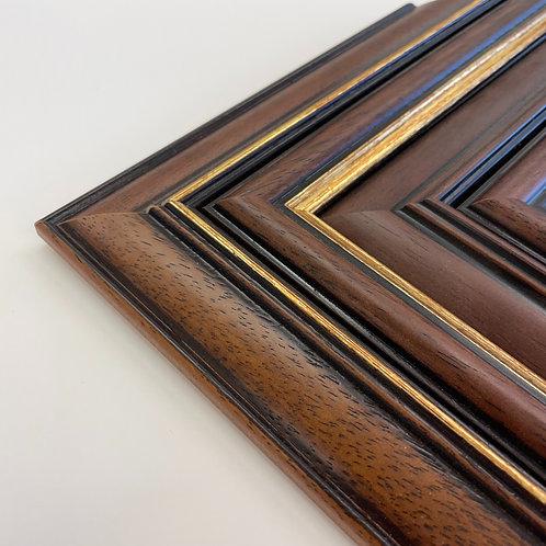 Classic Walnut Picture Frames