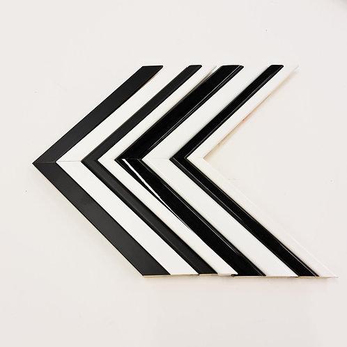 Mono - Matt/Gloss Wood Picture Frames