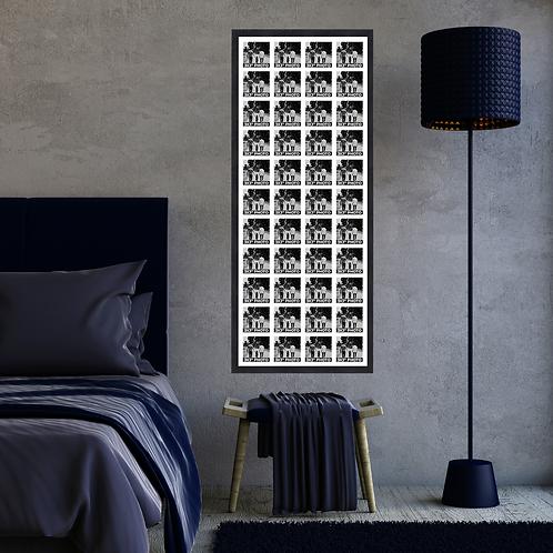 Large 3x3 Inch Square Photo Multi Aperture Picture Frame