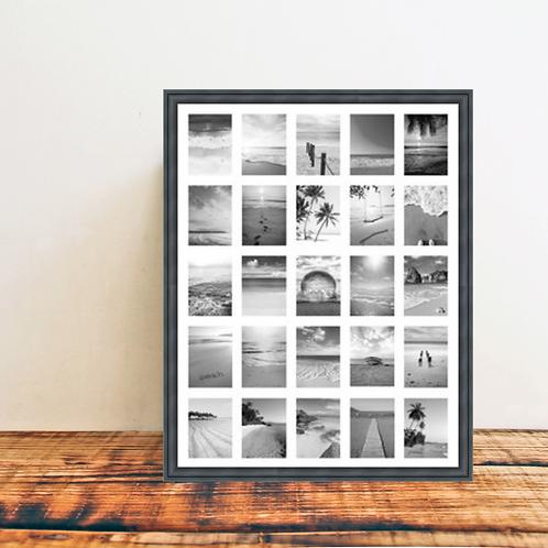 Instax Mini - Urban Industrial Photo Frame - Multi Aperture