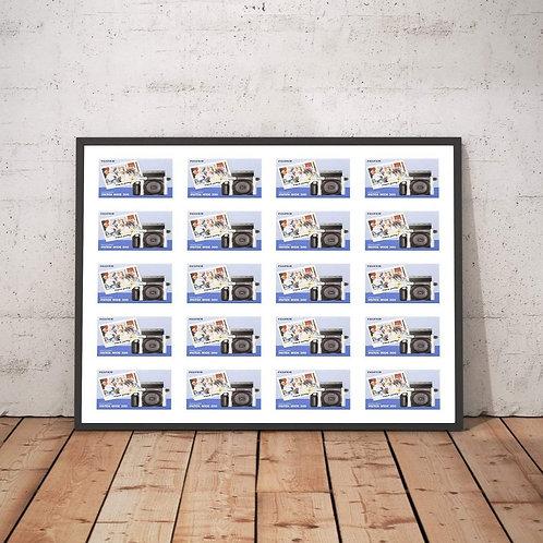 Instax Wide Photo Frame - Multi Aperture