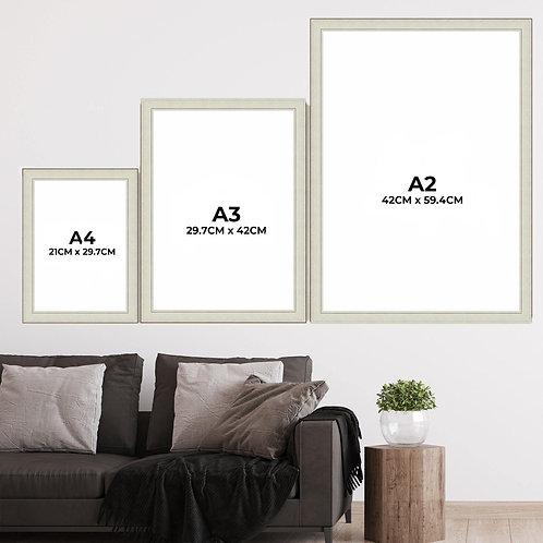 A2 A3 A4 Farmhouse Picture Frames
