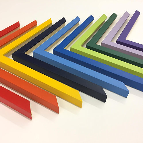 Colour Cubes Funky Wood Picture Frames