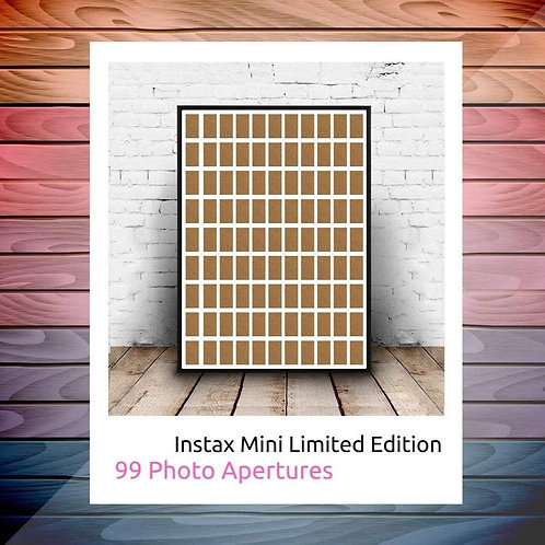 Instax Mini Photo Frame - Limited Edition - 99 Photo Aperture