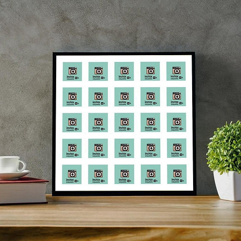 Instax Square Photo Frame - Multi Aperture