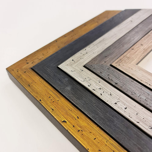 Porter - Metallic Style Wood Picture Frames
