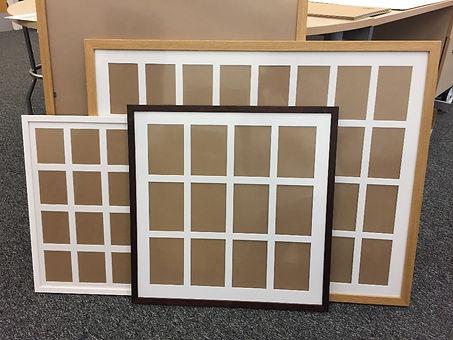 Custom Made Multi Aperture Frames