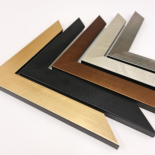 Ventura Metallic Wood Picture Frames