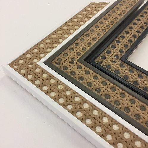 Rattan Wicker Wood Picture Frames