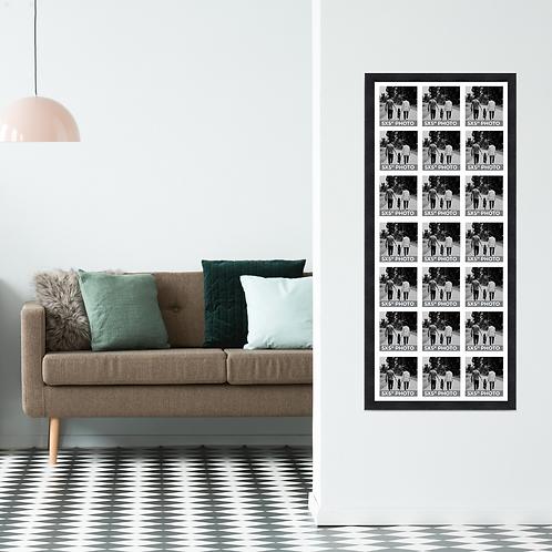 Large 5x5 Inch Square Photo Multi Aperture Picture Frame