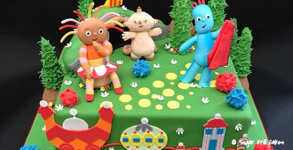 Birthday Cake - In the Night Garden