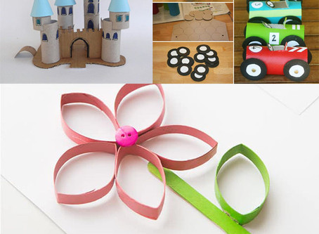 Réutiliser les rouleaux de papier toilette : 5 idées à réaliser avec des enfants