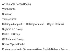 Helmikuun 2021 suosituimmat suomenkieliset LinkedIn-sivut