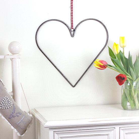 Handmade Wrought Iron Hearts