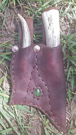 Jade incorporated into sheath