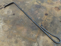 coal rake for fireplace or woodstove