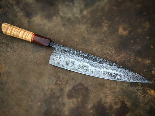 "9"" Chef's Knife (reclaimed materials)"