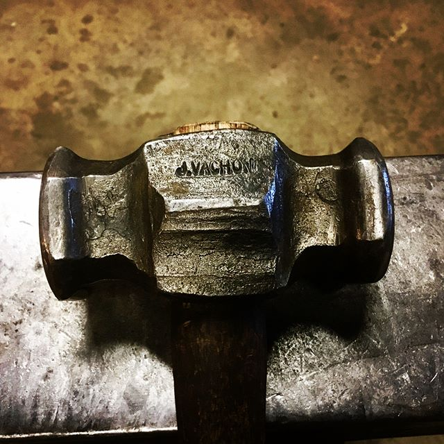 2 # rounding hammer forged from a sectio