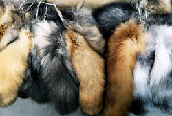 MIXED FUR TAILS