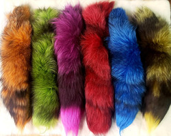 TWO TONED FOX TAILS