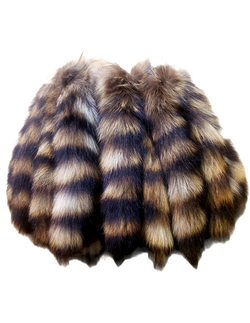 NATURAL RACCOON TAILS