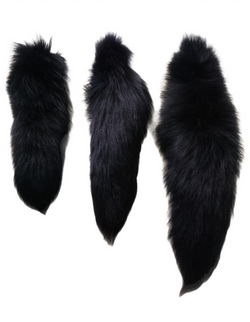 BLACK FOX TAILS