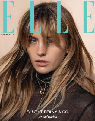 Elle Magazine/ Tiffany&Co Special Edition Cover