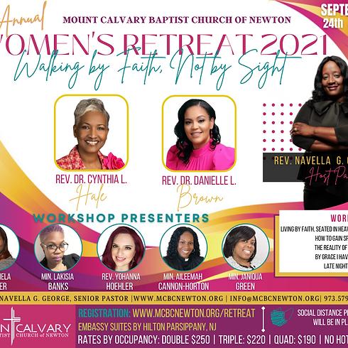 1st Annual Women's Retreat 2021