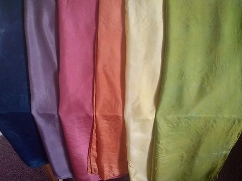 Naturally Dyed Play Silks