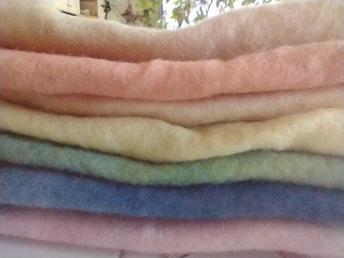 Naturally Dyed Wool Felt