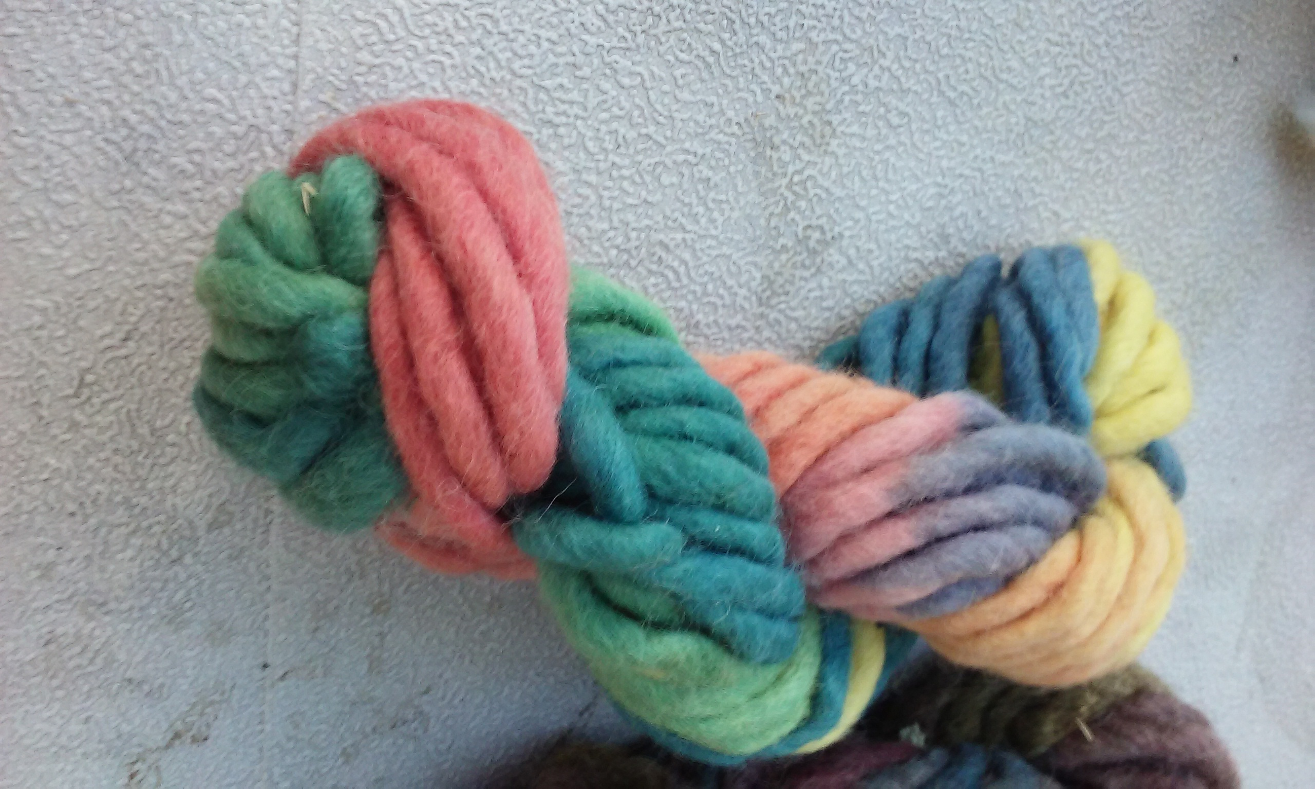 finger knitting yarn