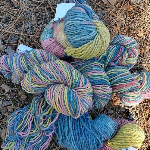 Rainbow dyed Yarn
