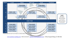 Planning Cours Co - Septembre 2018