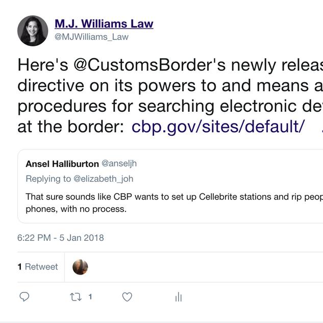 2018 01 05 CBP tweet