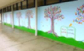 Hoover Community School Mural