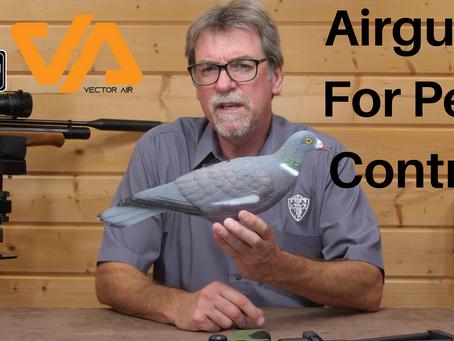Airguns for pest control....