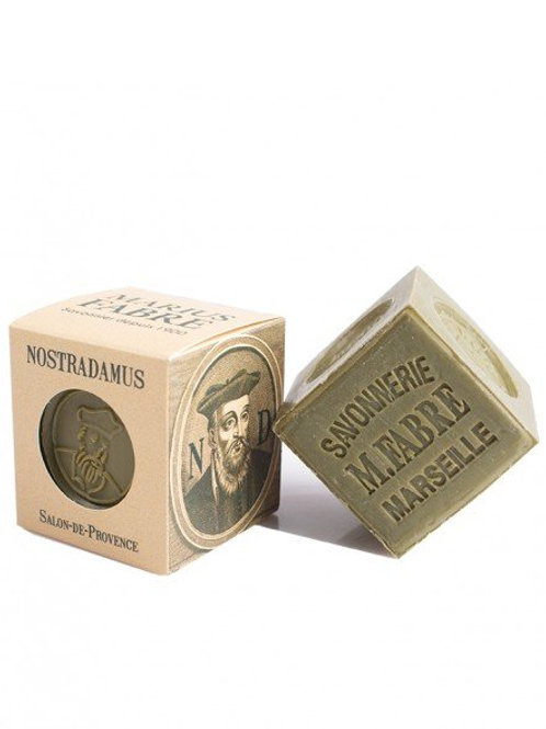"Collector ""Nostradamus"" - Marseille soap in olive oil 200g"