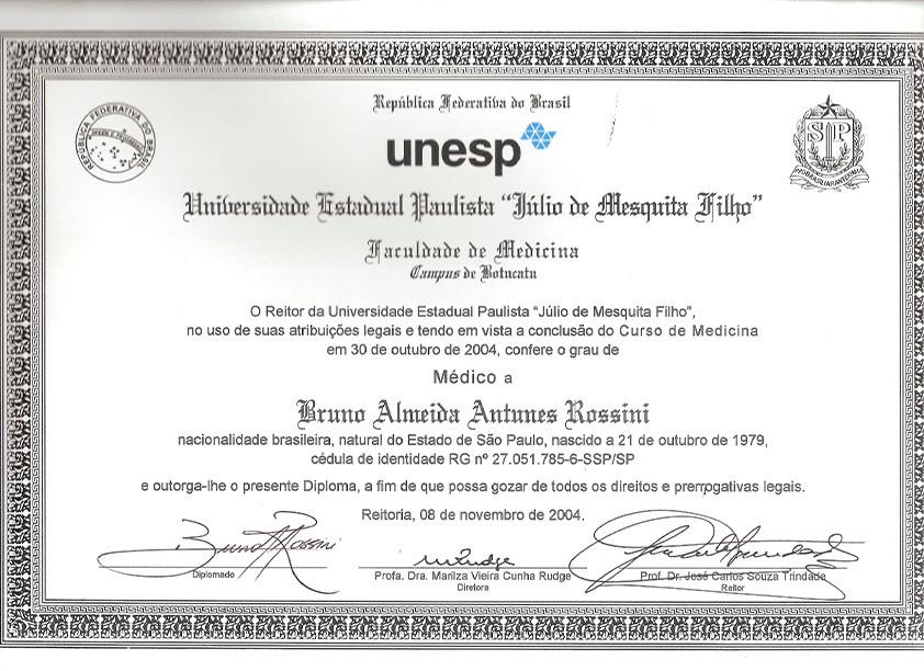 Diploma de Graduação