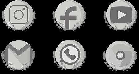 ícones personalizado