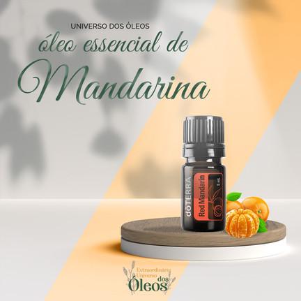 Óleos Essenciais de Mandarina