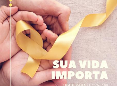 Setembro Amarelo: Sua vida importa!