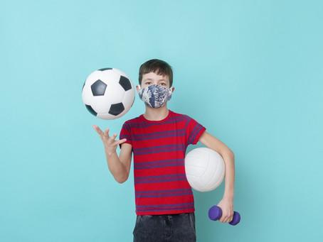 Vamos dar atividades esportivas para nossos filhos