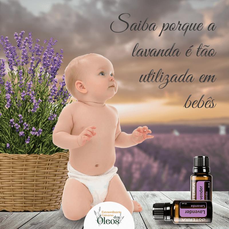 Óleos Essenciais em bebês