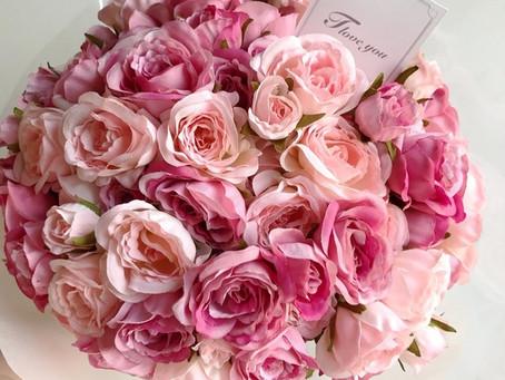 愛をこめて花束を♡