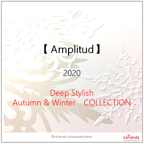 【4シーズン分類・コスメ】Amplitud 2020 AW