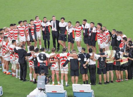 2019ラグビーW杯日本代表チーム ありがとう