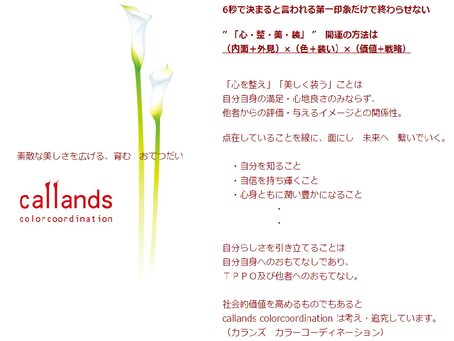「callands colorcoordination」